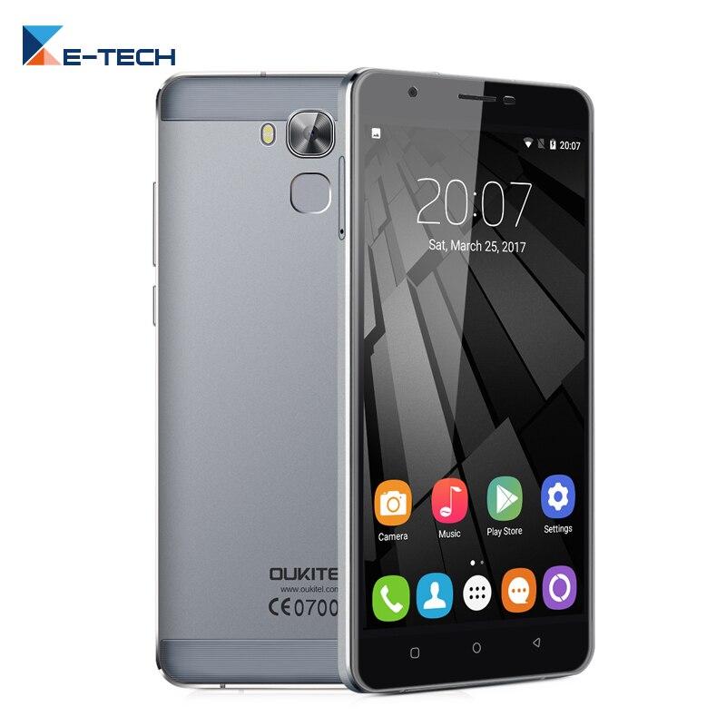 Цена за Oukitel U16 Макс Смартфон 6.0 Дюймов MT6753 Окта основные 3 ГБ RAM 32 ГБ ROM Мобильный Телефон Android 7.0 Отпечатков Пальцев OTA 4 Г мобильный телефон