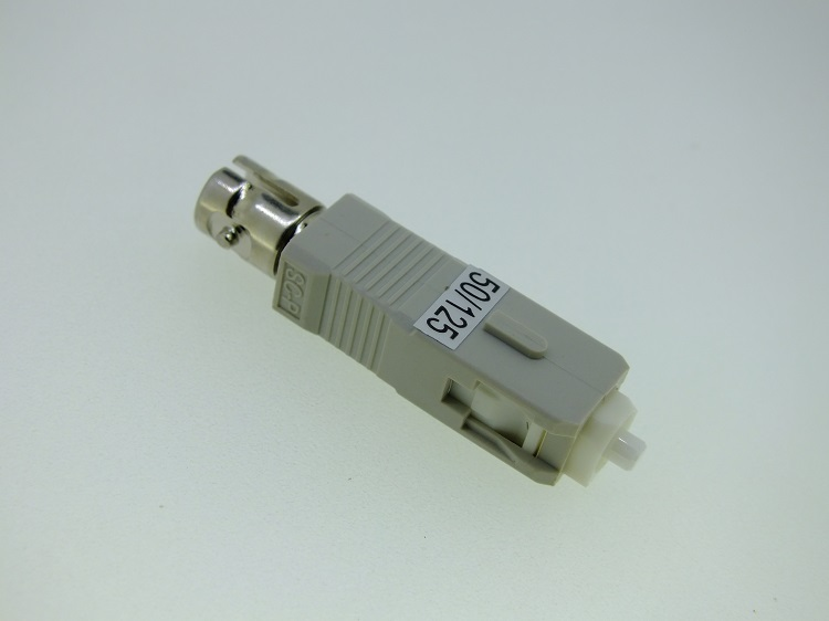 SC Male to ST Female Hybrid Fiber Optical Adapter Converter Connector MM50/125 Hybrid Adapter SC-ST UPC Female to Male Adapter