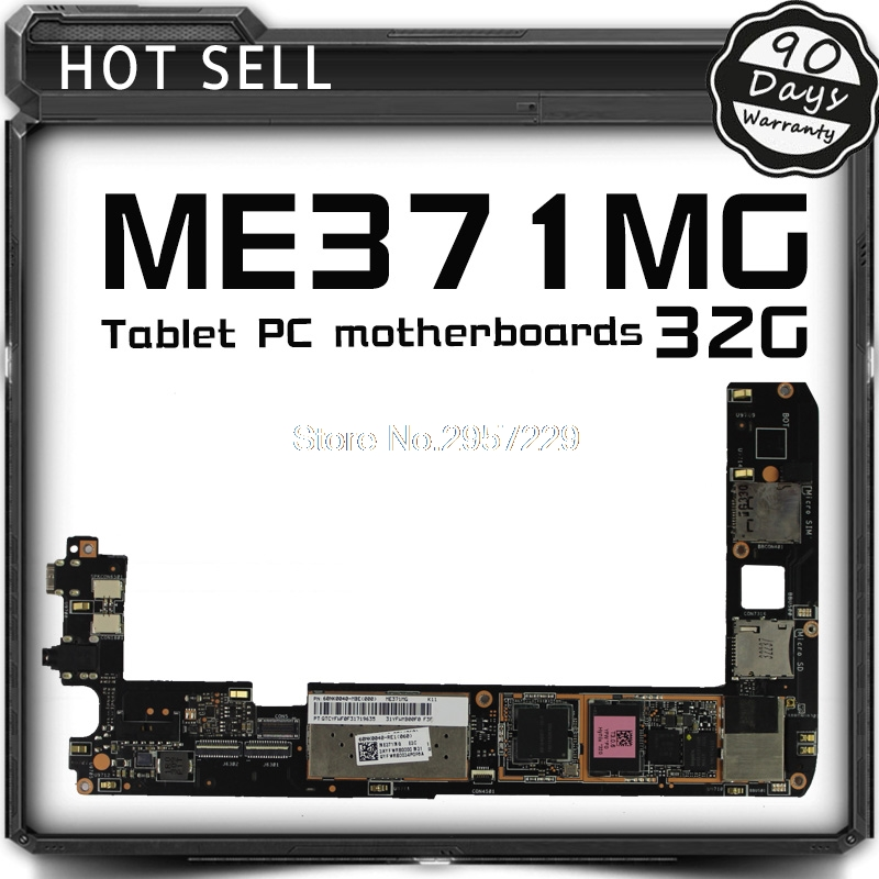 Tablet motherboard Logic board System Board For Asus Fonepad ME371 ME371MG 32GB Fully Tested All Functions Work Well special price original tablet motherboard logic board system board for asus memo pad 10 me102a tested all functions work well