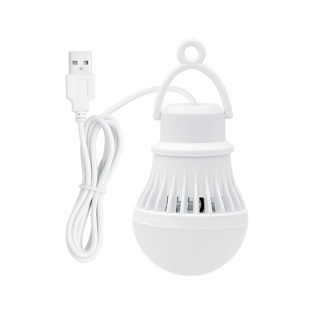 Portable USB Emergency Lights 6500K White LED Light Bulb Outdoor Camping Tent Lamp Night Market Lighting