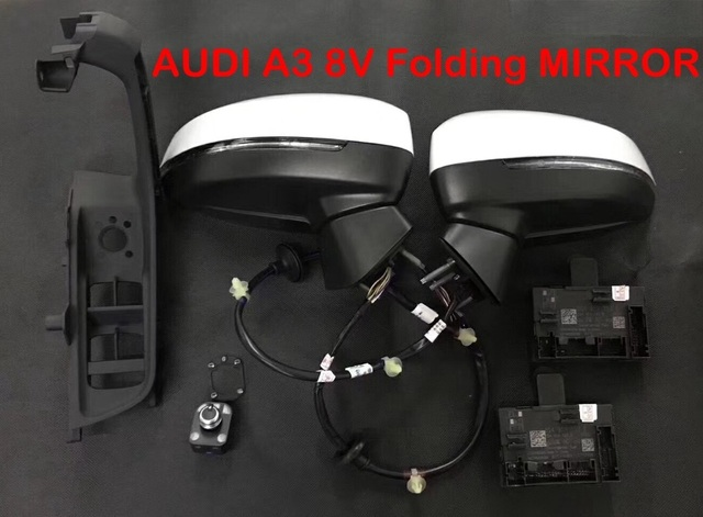 US $550 0  AUTO folding electric folding Mirror UPGRADE KIT For Audi A3 8V  -in Mirror & Covers from Automobiles & Motorcycles on Aliexpress com  