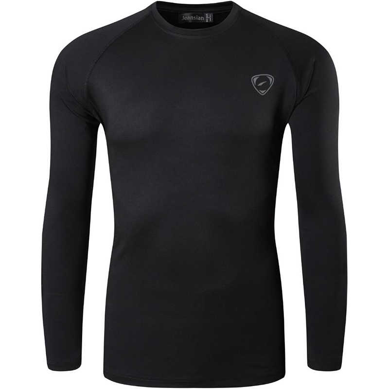 Jeansian Men's UPF 50 + UV 자외선 차단 야외 긴팔 티셔츠 티셔츠 티셔츠 비치 여름 LA245 Navy2