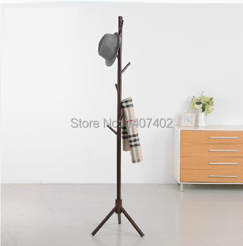online shop solid wood floor coat rack clothes hanger rack bedroom summary fashion clothes hanging clothes rack ikea aliexpress mobile