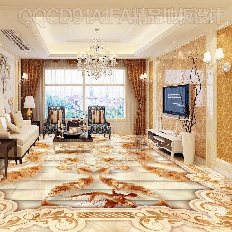 Free Shipping Beautiful simple elegant marble art pattern 3D floor high-quality self-adhesive lobby studio wallpaper mural free shipping marble texture parquet flooring 3d floor home decoration self adhesive mural baby room bedroom wallpaper mural