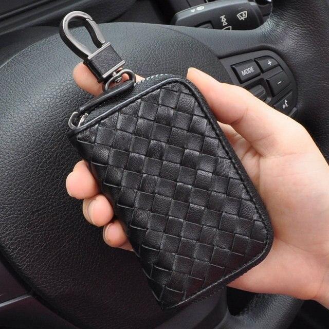 Fashion Men Genuine Lether Key Wallet, Sheep Skin Coin Purse ...