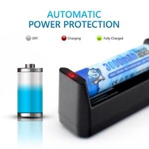 Image 5 - Домашнее зарядное устройство из АБС пластика, настенное зарядное устройство с одним слотом для литиевых и никель металлогидридных и cd аккумуляторов 18650, 26650, 16340, 18350, Aa, Aaa, Тип ЕС/США
