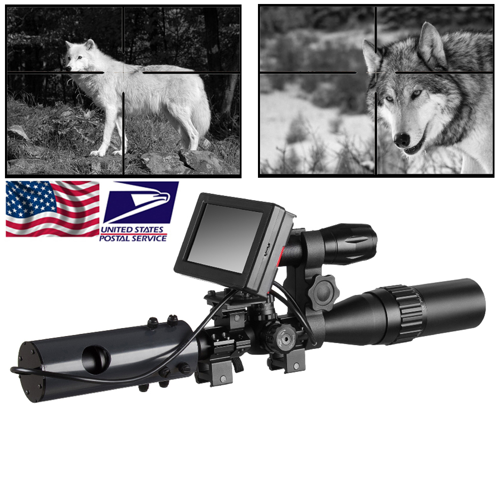 850nm Infrared LEDs IR Night Vision Device Scope Sight Cameras Outdoor 0130 Waterproof Wildlife Trap Cameras