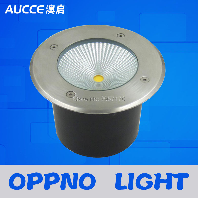 Warm White Recessed Ground Led Stair Light 15w Cob, Fashionable 15watts Cob  Underground Lamp Led Light Led Outdoor Lighting