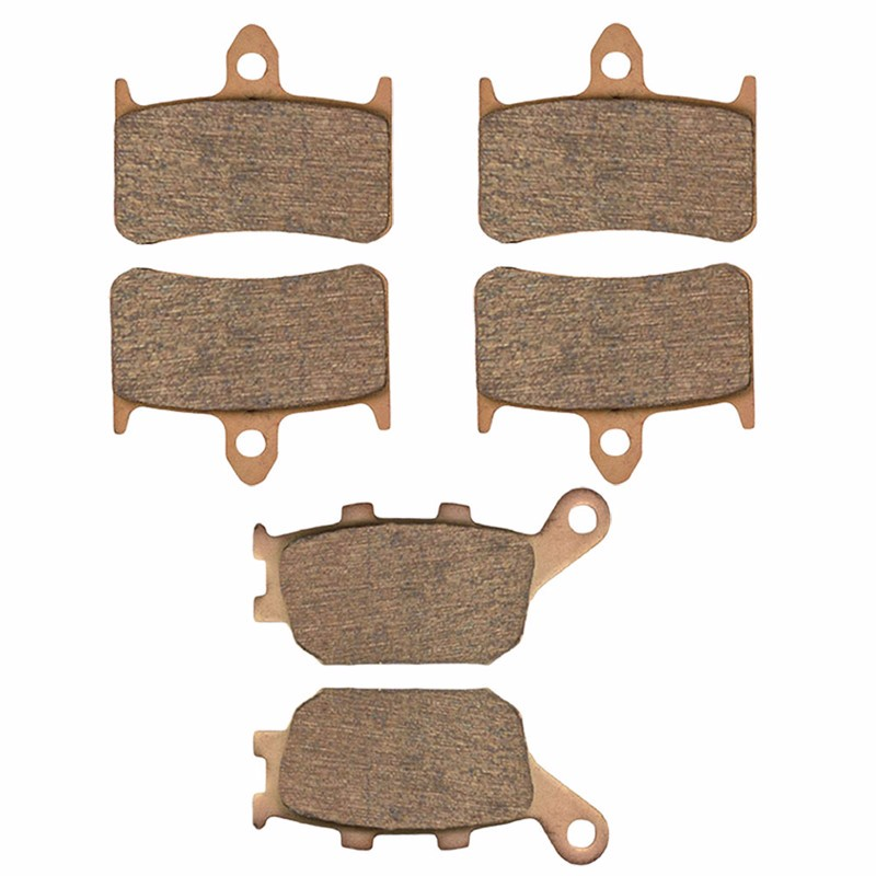 Motorcycle Parts Front & Rear Brake Pads Kit For HONDA 919 CB900 F CB900F 2002-2007 Copper Based Sintered motorcycle parts copper based sintered motor front