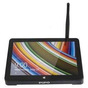 Image 4 - New PIPO X8S X8 Pro Dual HD Graphics TV BOX Windows 10 Intel Z3735F Quad Core 2GB/32GB Tv Box 7 Inch Screen Tablet  Mini Pc