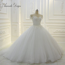 Amanda Chen Design Real Work Ball Gown Wedding Dress