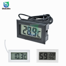 Mini LCD Digital Temperature Humidity Meter Indoor Outdoor Thermometer Hygrometer Temperature Sensor Gauge Display Home Freezer цены