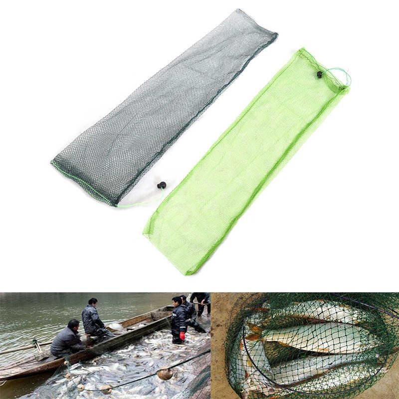 Fischernetz Falle Folding Nylon Mesh Guss Zubehör Einfache Fisch Tasche Tackle Faltbare Angeln Werkzeuge Farbe Nach Dem Zufall