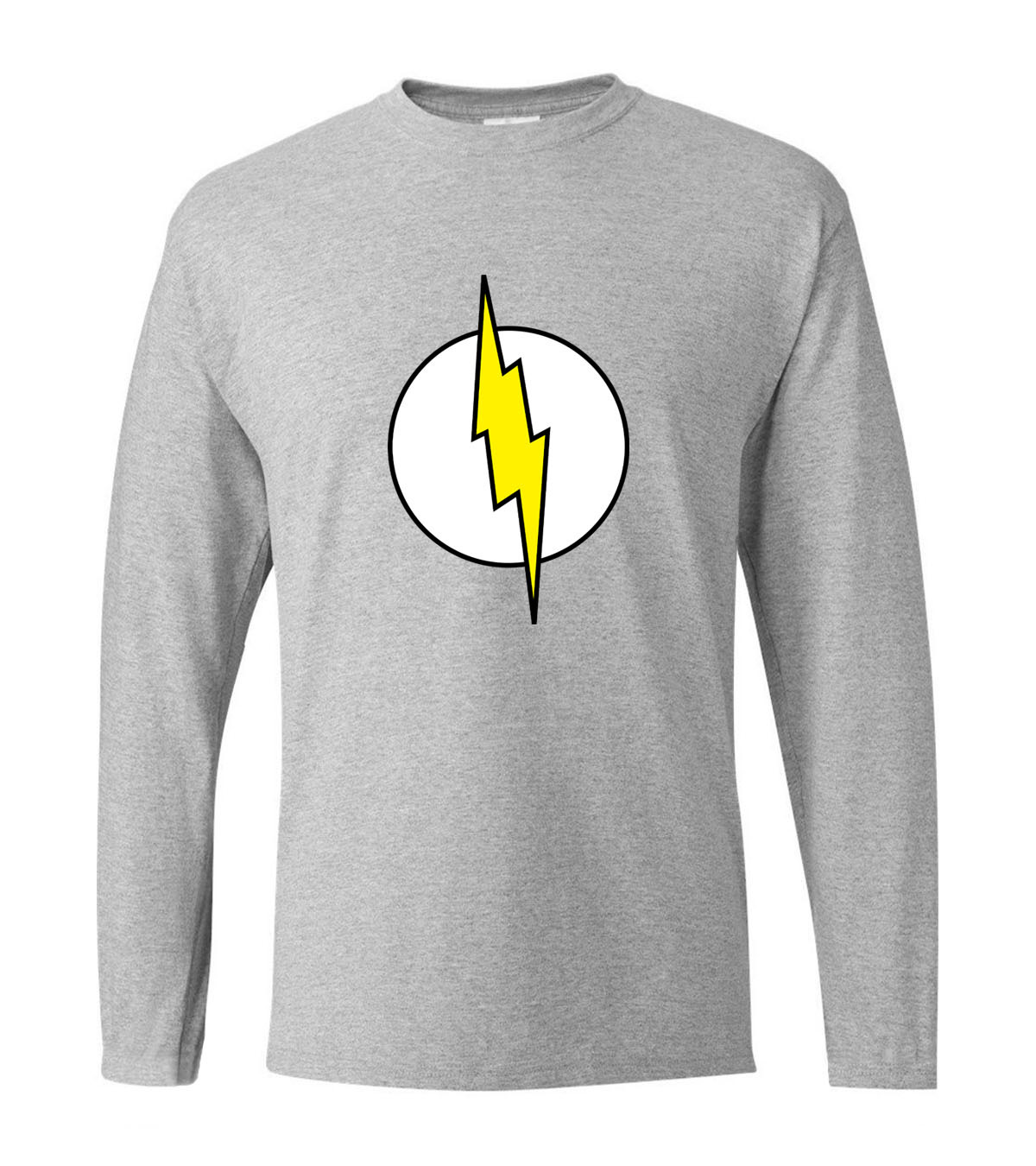 Superman Series T-shirts Sheldon Cooper The Flash men's long sleeve t shirt 2019 spring 100% cotton fitness man tshirt for fans