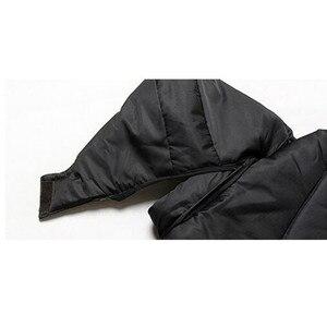 Image 4 - HOT New 2020 แบรนด์ชายเสื้อฤดูหนาวเสื้อแจ็คเก็ตขนาดใหญ่M 4XLใหม่มาถึงCasual Slim Cotton Hooded Parkas Casaco masculino
