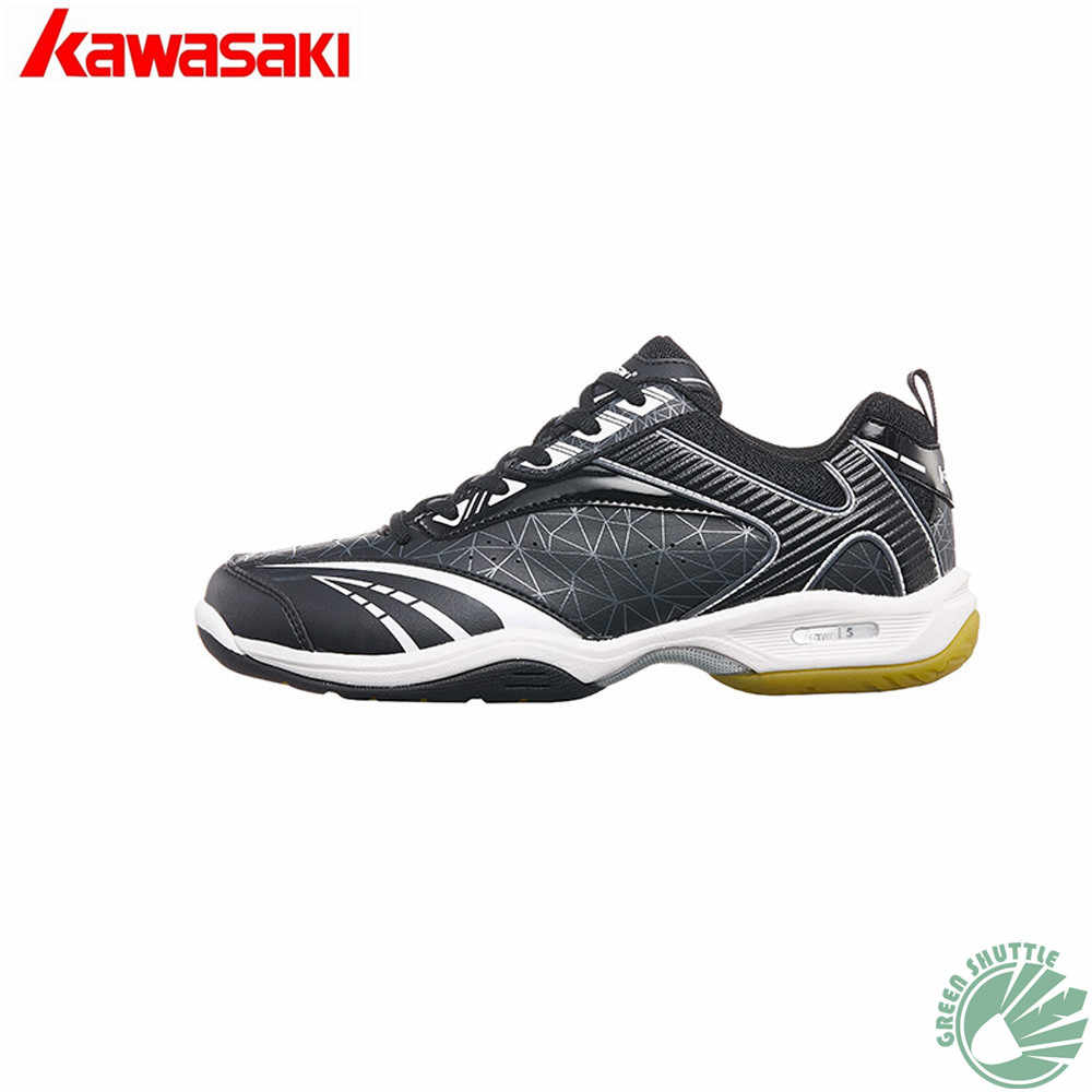 2019 New Professional Kawasaki 100% Original High Elastic Encapsulated K-155 K-156 Unisex  Badminton Shoes