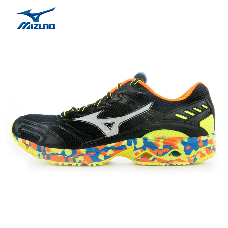 MIZUNO Men's Running Shoes WAVE ENDEAVOR Cushioning Sneakers Breathable Footwear DMX Sports Shoes J1GR162403 XYP446 mizuno mizuno wave legend