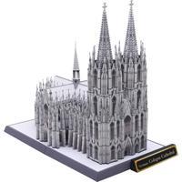 DIY Grande Formato Germania Cattedrale di Colonia Craft Modello di Carta 3D Costruzione Architettonica FAI DA TE Educativi Giocattoli Fatti A Mano Puzzle Per Adulti Gioco