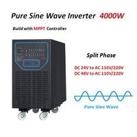 Mejor Inversor de onda sinusoidal pura inversor de energía Solar 4000 5000 6000W 24 V 48