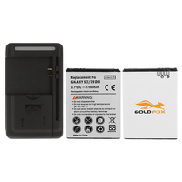 For Samsung Galaxy S2 SII GT I9100 I9100 2x 1700mAh Cell Phone Battery Replacement Bateria USB