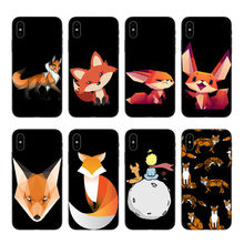 O iphone 6 7 8plus x xr 11 12pro mini max caso coque o sr. raposa com óculos de silicone preto