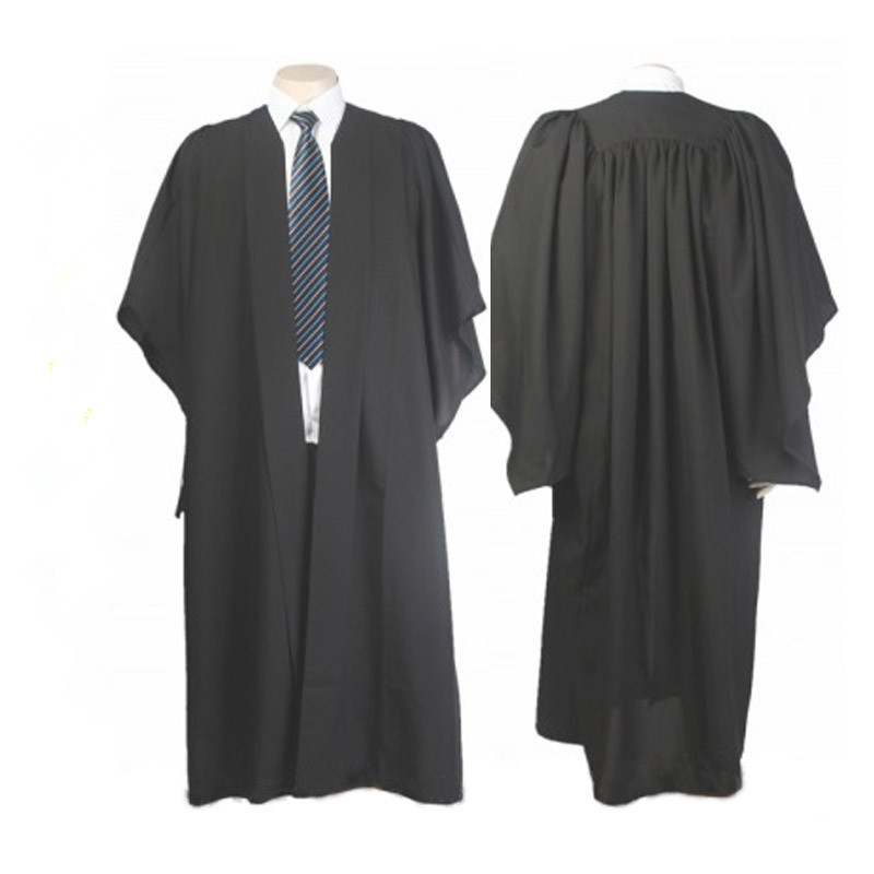 Online Shop Classic Black Bachelor Graduation Gown University ...