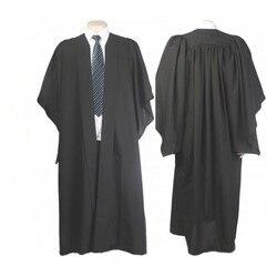 Classic Black Bachelor Graduation Gown University Academic Dress