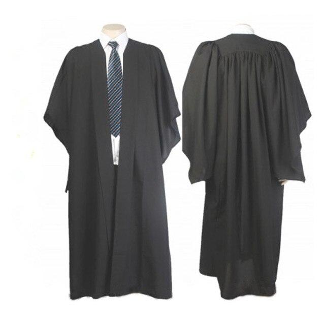 Classic Black Bachelor Graduation Gown University Academic Dress-in ...