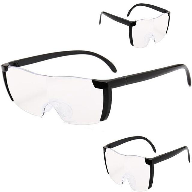 53fda31a8e Outils de broderie diamant loupe verre lunettes unisexes diamant peinture  pleine ronde/carrée perceuse point