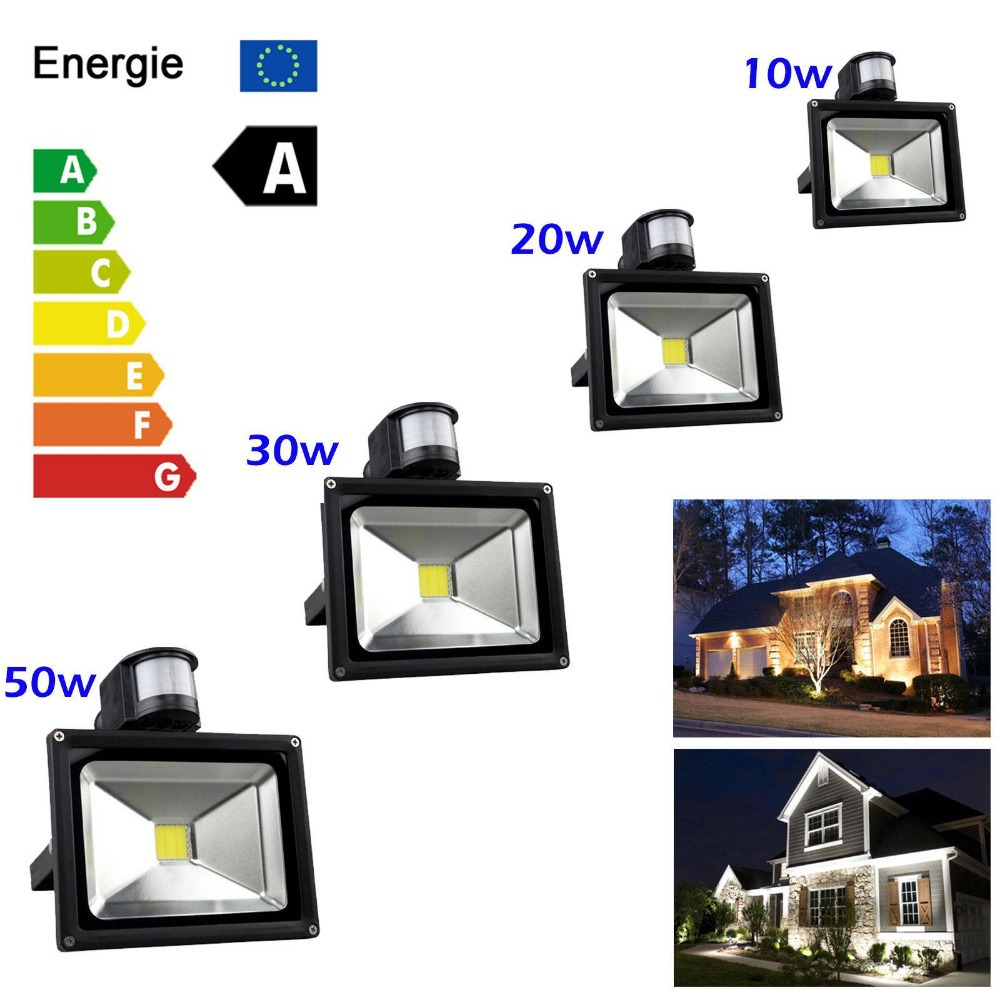 Wholesale 10pcs pir led flood light outdoor spotlight motion wholesale 10pcs pir led flood light outdoor spotlight motion sensor flood light 10w 20w 30w 50w ip65 ac85 256v free shipping in floodlights from lights mozeypictures Image collections