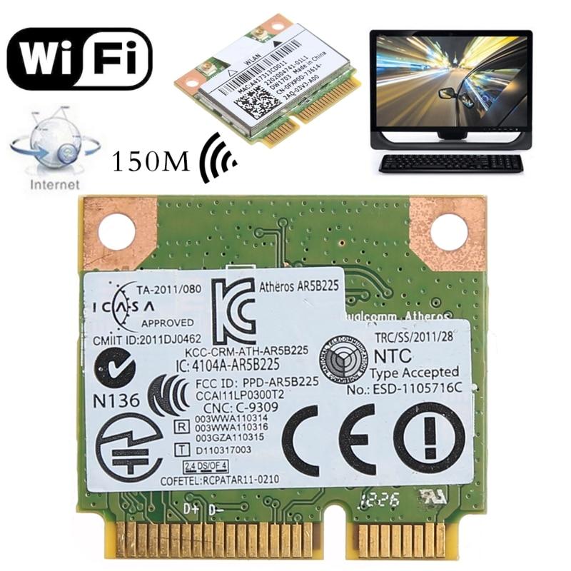 Bluetooth V4.0 Wireless Mini PCI Express Card For Atheros AR5B225 DELL DW1703 2019 New