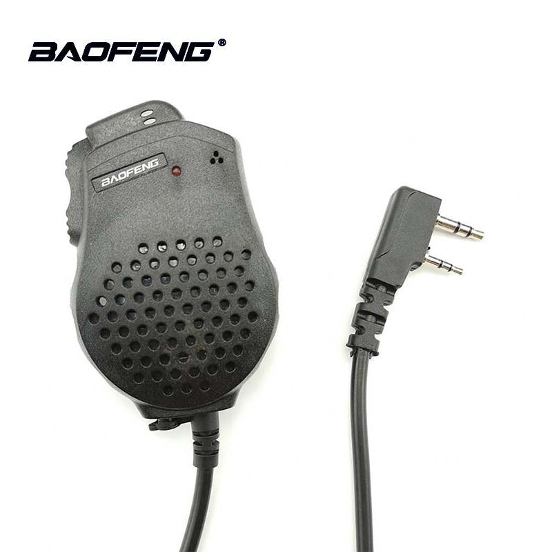 2 pcs Baofeng UV-82 Double PTT Micro Haut-Parleur Microphone Pour Baofeng Radio Bidirectionnelle UV 82 UV-8D UV-89 UV-82HP Talkie-walkie talkie-walkie Accessoires