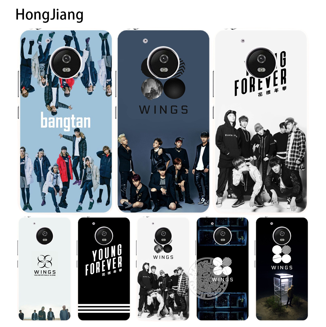 HongJiang BTS Bangtan Army Young Forever Case Cover For