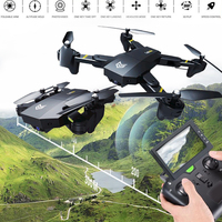 Lensoul S25 Headless Mode Quadcopter 2 4GHz 4 Axis Gyro Fixed High Folding FPV Drone Foldable