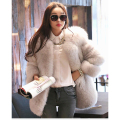 Real fur coats for women fox fur free shipping leather coat 100% natural fox fur winter thick warm fox fur New Phoenix