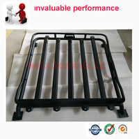 Car Styling Auto Roof Racks Side Rails Bars Baggage Holder Luggage Carrier For Suzuki Jimny high quality
