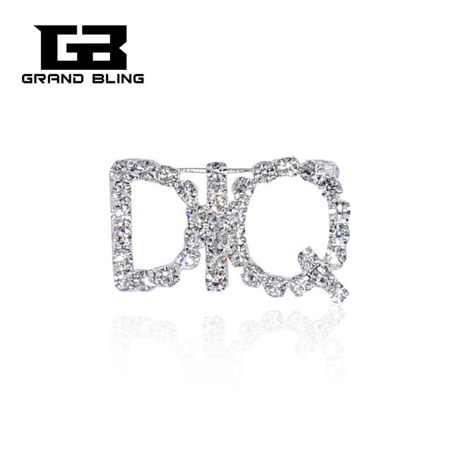 Crystal Brooch Jewelry Silver