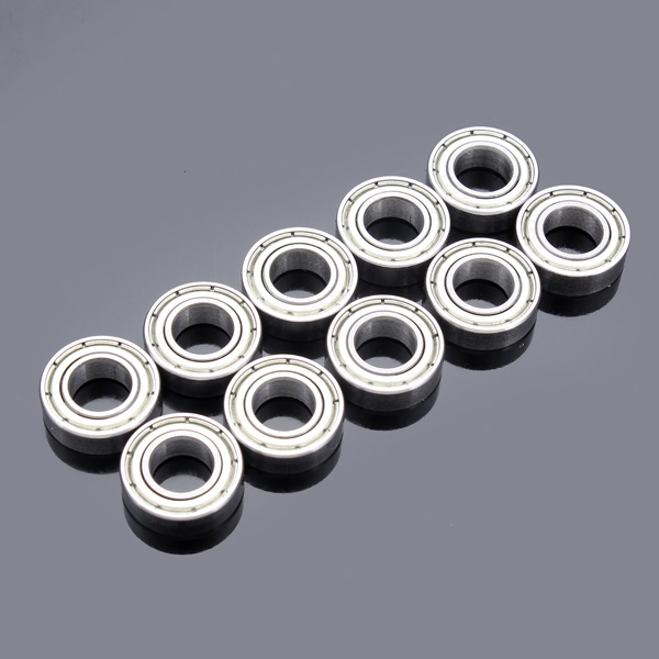 10Pcs New Miniature <font><b>625ZZ</b></font> Ball Bearings 5*16*5mm Small Wear Carbon Steel Single Row Deep Groove Radial Ball Bearing image