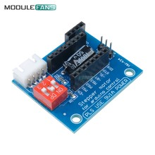 1Pcs A4988 DRV8825 Stepper Motor Driver Control Panel Board Expansion Board Module V1.1 Active Component For 3D Printer(China)