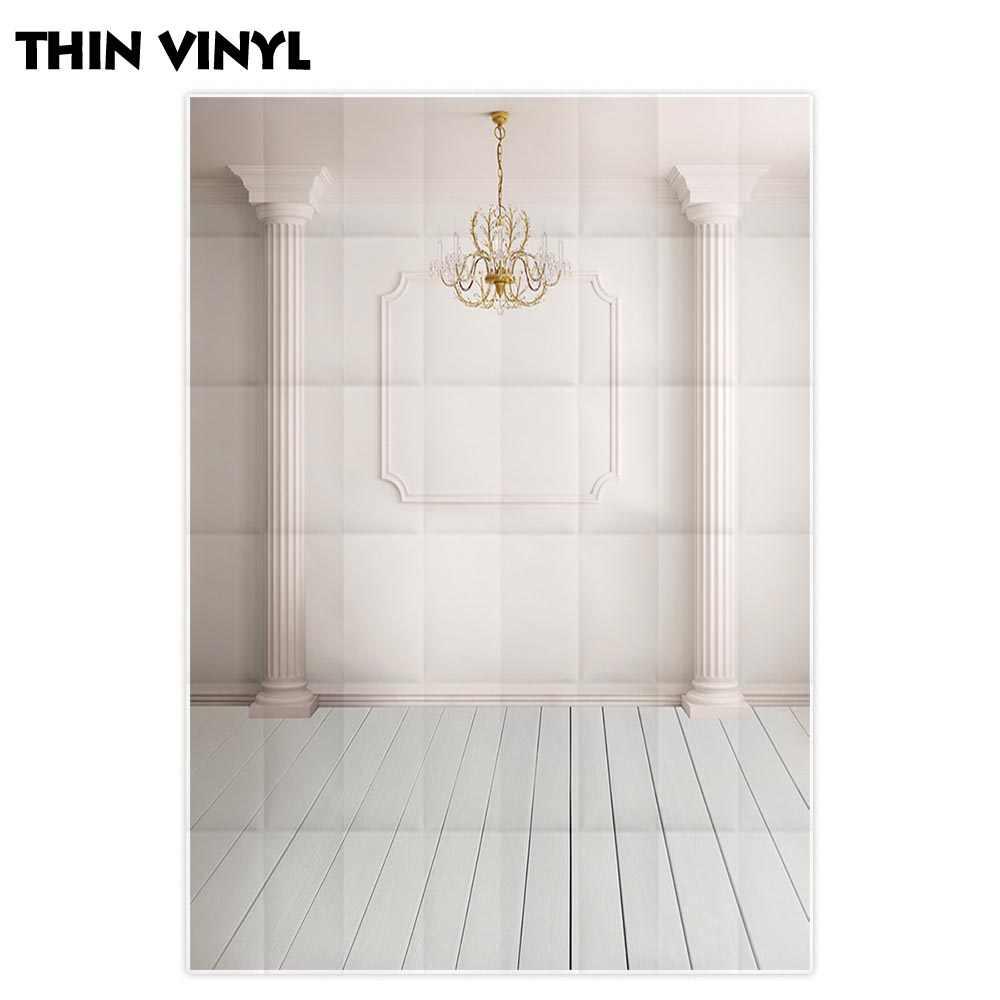 Fondo de fotografía Allenjoy clásico de lujo Palacio Blanco telón de fondo para habitación photocall utilería para sesión fotográfica photobooth tela