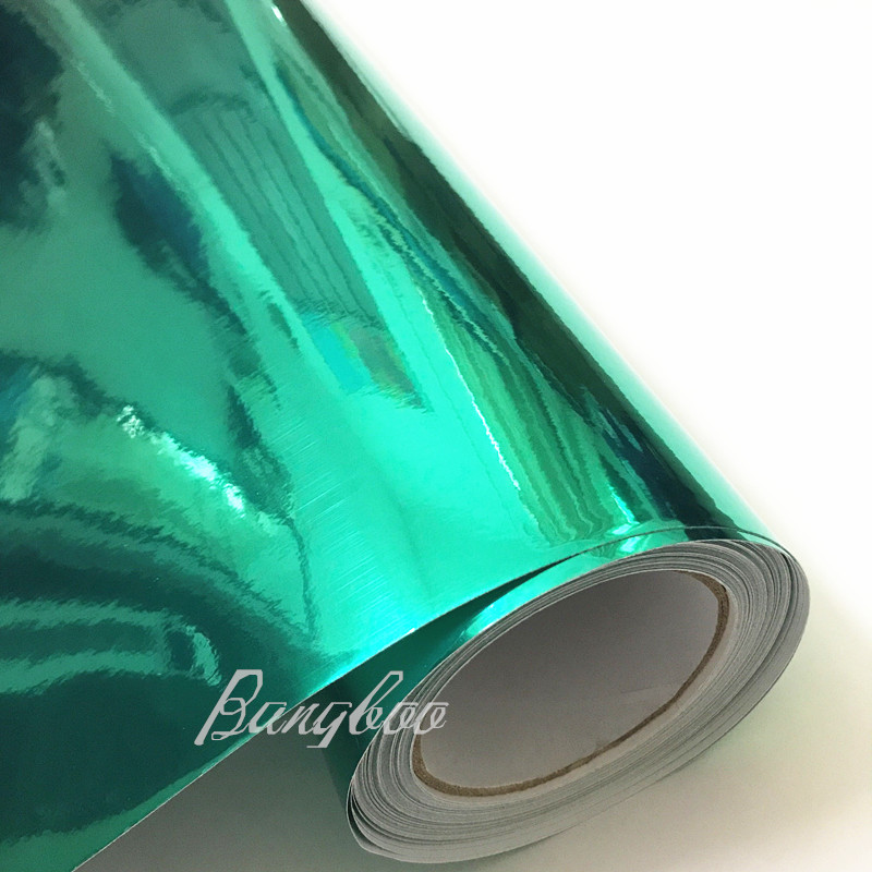 Premium High Stretchable Waterproof Tiffany Chrome Mirror Vinyl Wrap Sheet Roll Film Car Sticker Decal