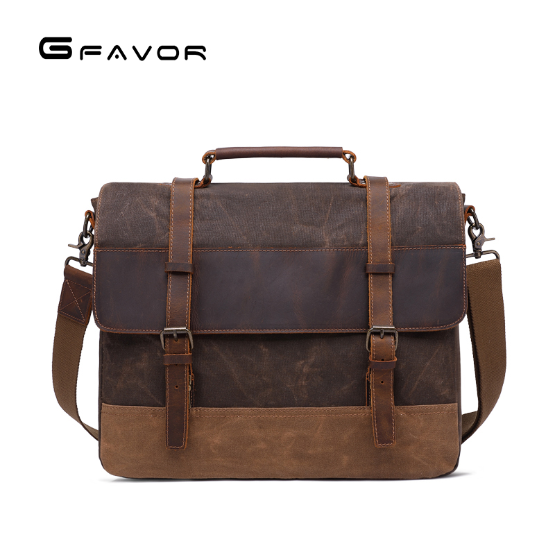 New Men Messenger Bags Waterproof Canvas Men Vintage Handbags Travel Shoulder Bags 14 Inch Laptop Briefcase bag Crossbody bag canvas leather crossbody bag men briefcase military army vintage messenger bags shoulder bag casual travel bags