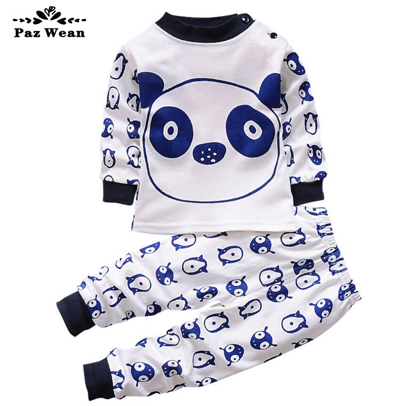 Children's pajamas home sets for boys Pajama graphic Baby clothes for children 1 2 3 year girls toddler kids baby boys clothing baby nightwear pajama suit for children pajamas for boys with long sleeve kids pjs sleepwear set children s clothing 1 2 4 year