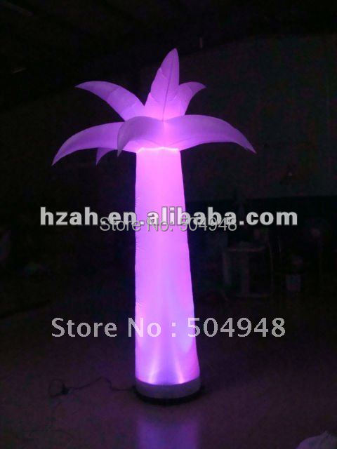 Small LED Inflatable Flower Tree for Decorations beauty inflatable lighting tree