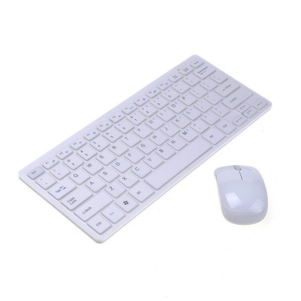 Ultra-thin PC Laptop 2.4G 2.4GHz Wireless Keyboard Mouse Compact & Reliable