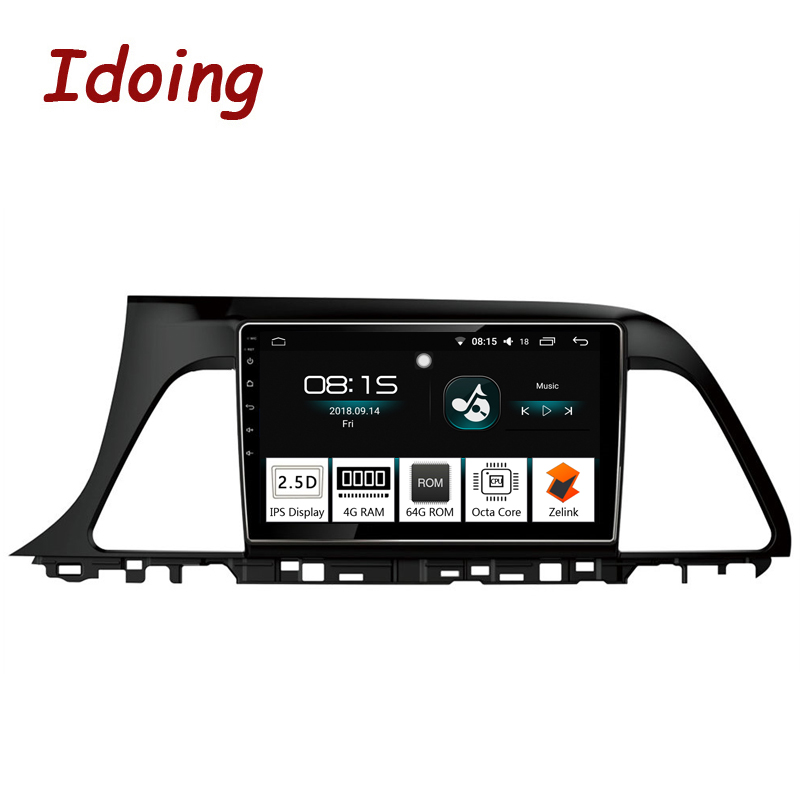 Idoing 9 1Din 4G 64G Octa Core Car Android 8 0 Radio Vedio Multimedia Player For