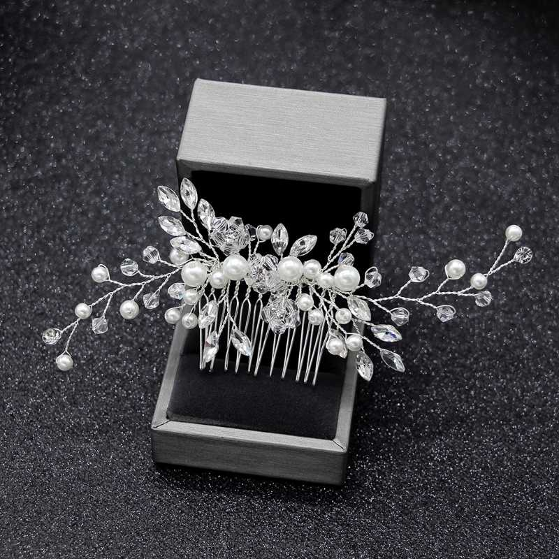 Elegant Wedding Hair Combs สำหรับ