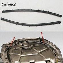 Cafoucs для peugeot 301- для Citroen Elysee автомобильный передний двигатель капот Звукоизоляционная прокладка уплотнения