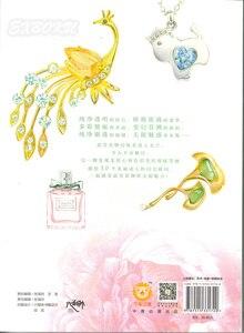 Image 4 - Chiński kolorowy ołówek kryształ biżuteria naszyjnik malarstwo rysunek artystyczny książka