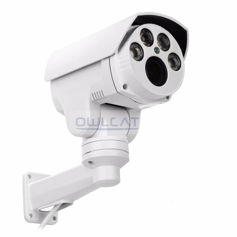 OwlCat AHD PTZ Bullet Camera Udendørs HD 1080P AHDH 4X 10X Zoom - Sikkerhed og beskyttelse - Foto 4